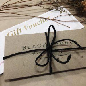 Gift Voucher | Black Pebble Design