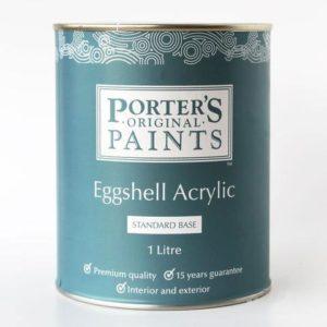 Porters Paints Eggshell Acrylic