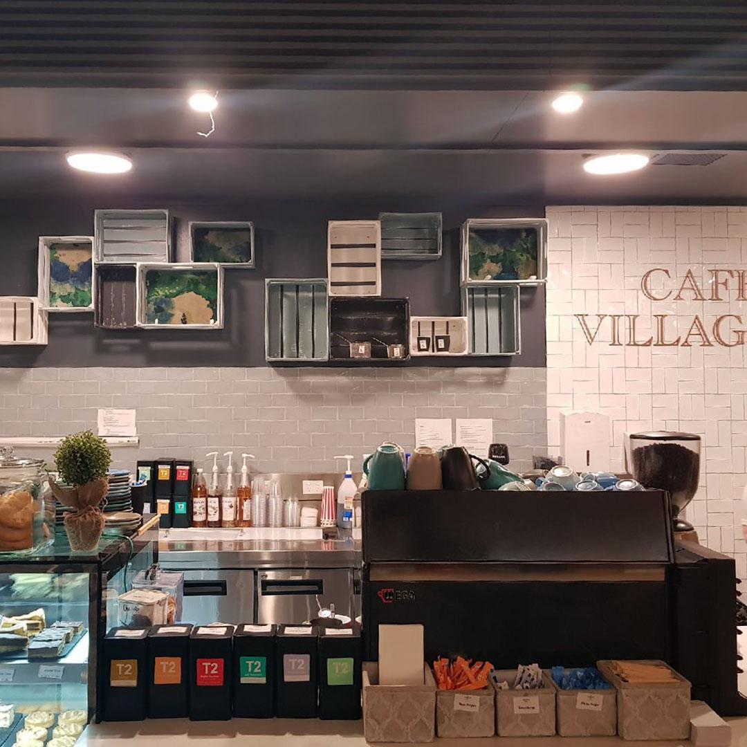 Richmond Club Cafe Villagio Project | Black Pebble Design
