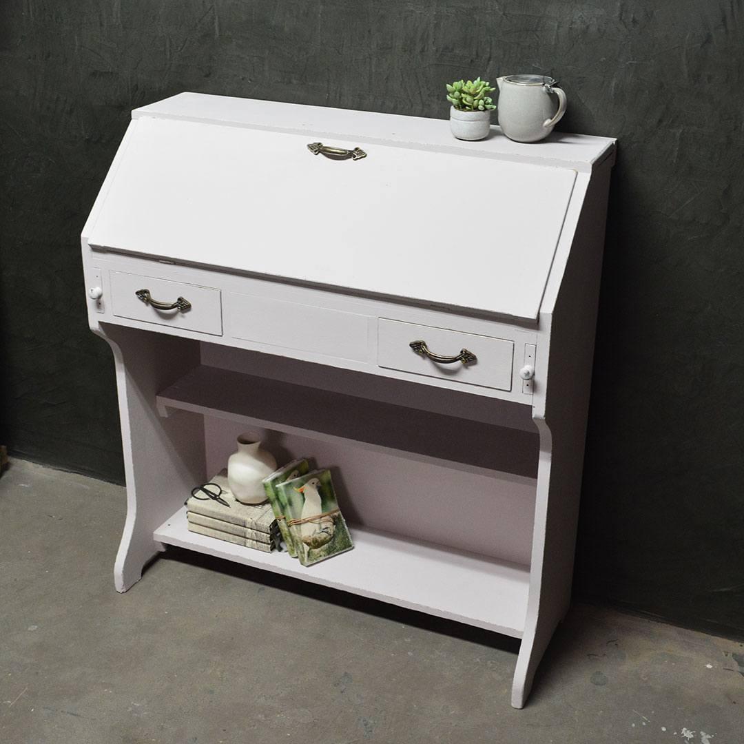 Writing Desk Upcycle | Black Pebble Design